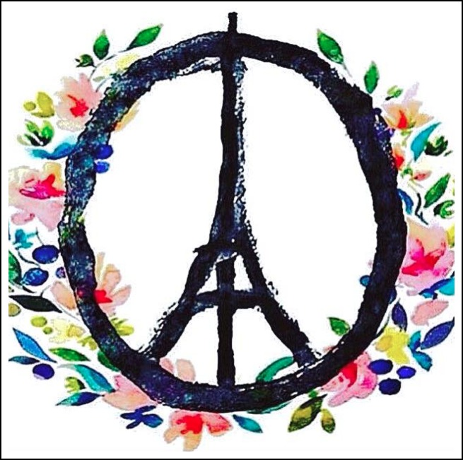Re Paris Being Peace Wherever You Are In The World